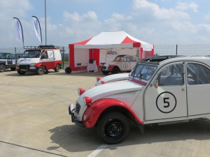2CV Adventures at the Silverstone Classic Press Preview Day. We will be at the event on July 25-27. See you there.